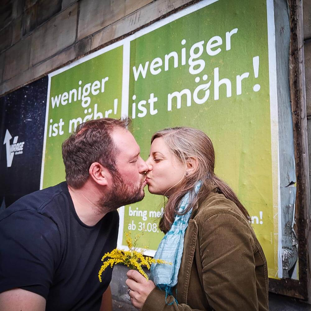 Christina und Marius Herzig starten mit Heike Rose das Ökolädchen