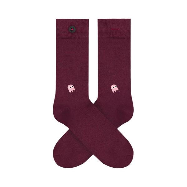 Nachhaltig produzierte Socken Adam Socks in stan bordeaux online kaufen.