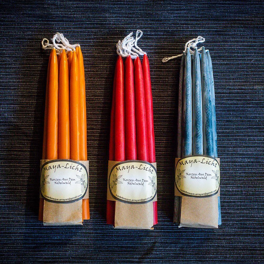 Kerzen aus dem Nebelwald MAYA-LICHT. Kerzen in Osnabrück und im Onlineshop