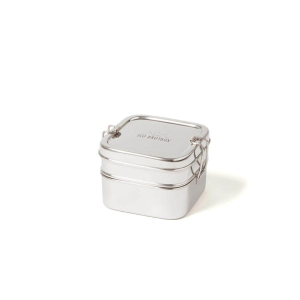Eco brotbox Cube Box, Brotdose aus Edelstah online kaufen bei das ökolädchen