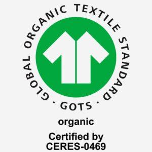 GOTS Siegel organische Baumwolle Decke beim Ökolädchen in der Osnabrücker Redlinger Straße oder im Onlineshop