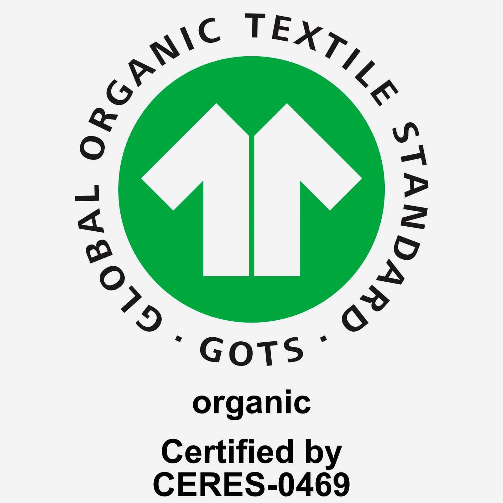 GOTS Siegel organische Baumwolle