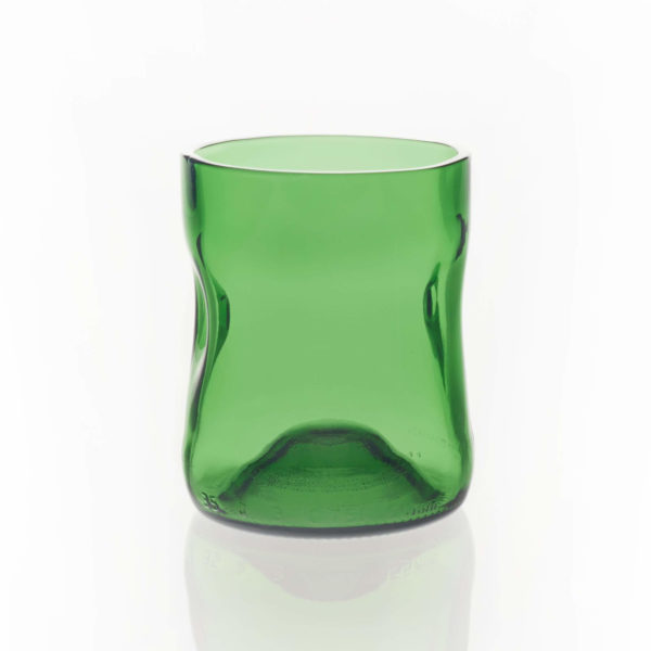 Dänische Glaskunst, Trinkglas von Jasper Jensen, handgefertigt, online kaufen bei dasökolädchen