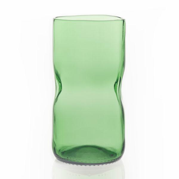 Glas groß - grün 1