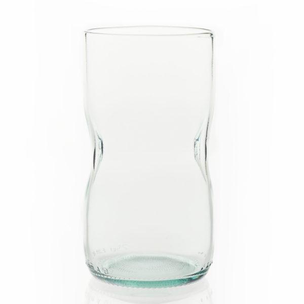 Glas groß - hellblau 1