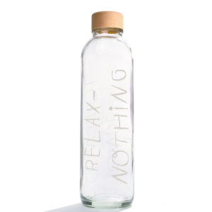 Glastrinkflasche Relax - 0,7 l