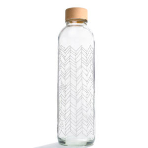 Glastrinkflasche Structure of Life - 0,7 l