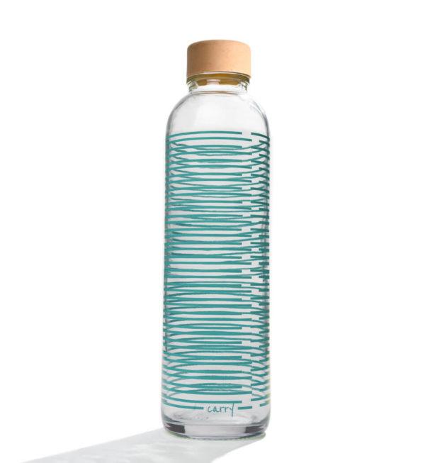 Glastrinkflasche Summer Twist - 0,7 l