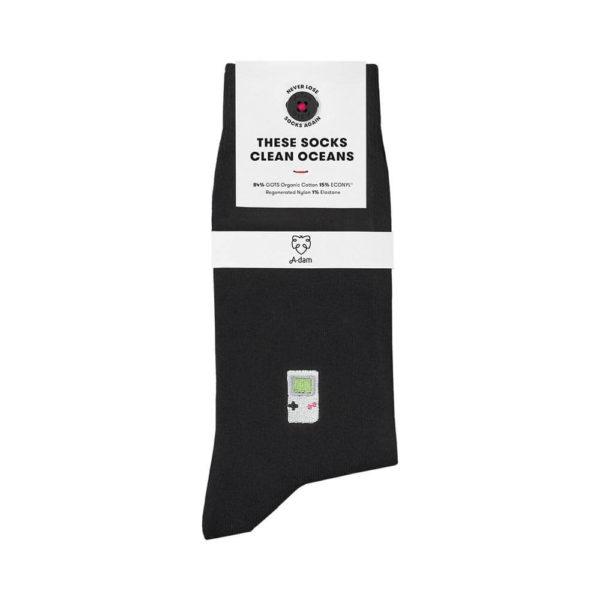 Nachhaltige Socken Adam Socks in schwarz online kaufen.