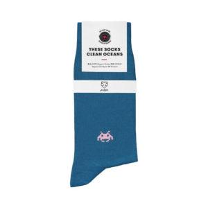 Nachhaltige Socken Adam Socks in julien blau online kaufen.