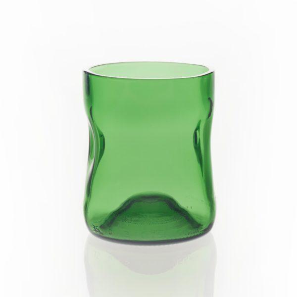 Glas Set 1 Karaffe und 3 Gläser klein in Holzbox 5