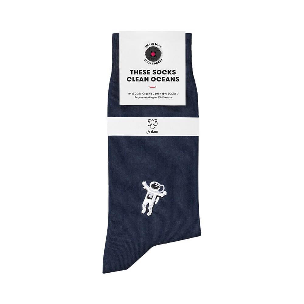 Nachhaltige Socken Adam Socks in andre navy blau online kaufen.