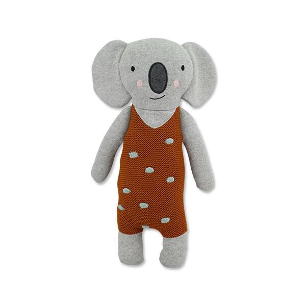 Kuscheltier Koala von Ava und Yves. Spielzeug für Kinder. Geschenk für die Geburt. Nachhaltig und Ökologisch, aus 100 & Biobaumwolle