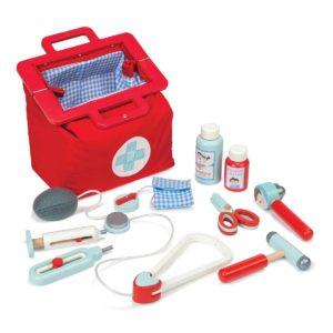 Le Toy Van Kinderspielzeug, Holzspielzeug roter Arztkoffer