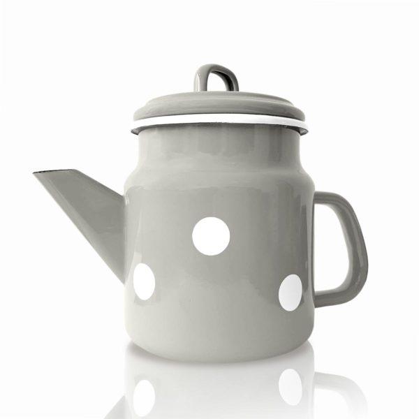 Emaille Teekanne von Münder. Manufaktur aus Münster. Online kaufen bei dasökolädchen