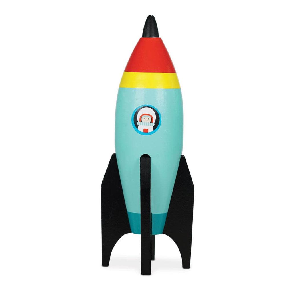 Spielzeug Rakete aus Holz von Le Toy Van, online kaufen bei das ökolädchen, nachhaltig einkaufen