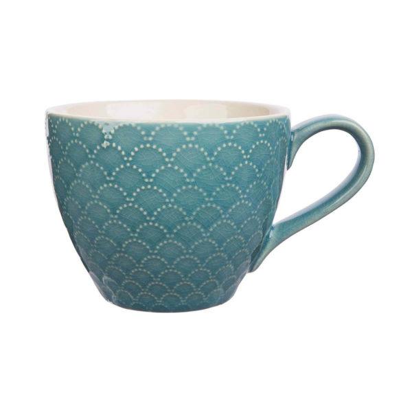 Schön gemusterte Keramiktasse THIES von Tranquillo