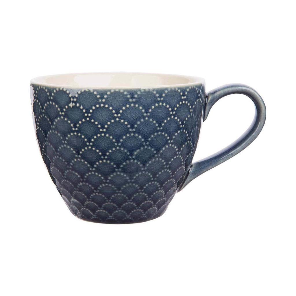 Schön gemusterte Keramiktasse TILL von Tranquillo