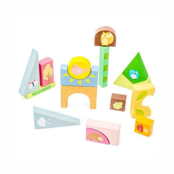 Ley Toy Van Holzspielzeug wald puzzle mit tieren