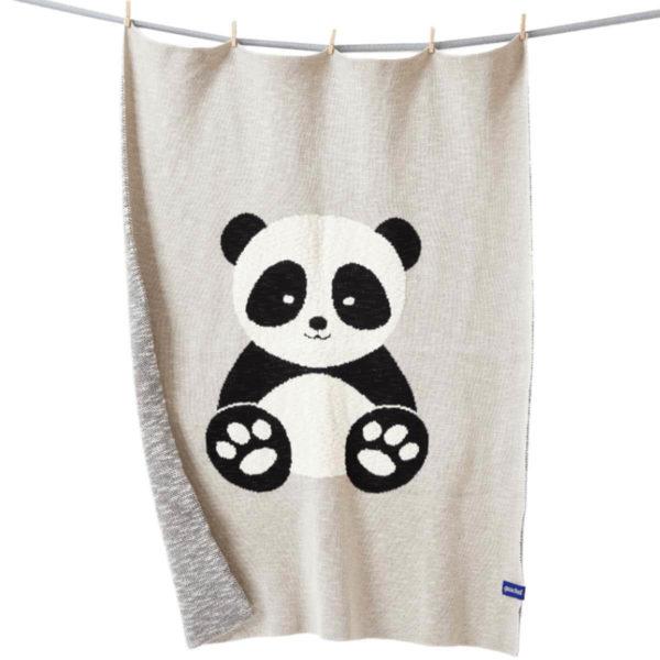Baby-Panda Kuscheldecke für Kinder und Babys von quschel