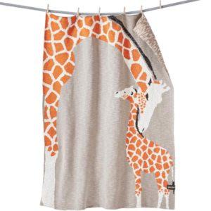 Giraffenliebe Kuscheldecke für Kinder und Babys von quschel