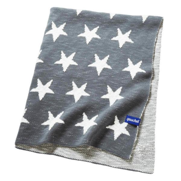 Sternen Himmel Kuscheldecke für Kinder und Babys von quschel