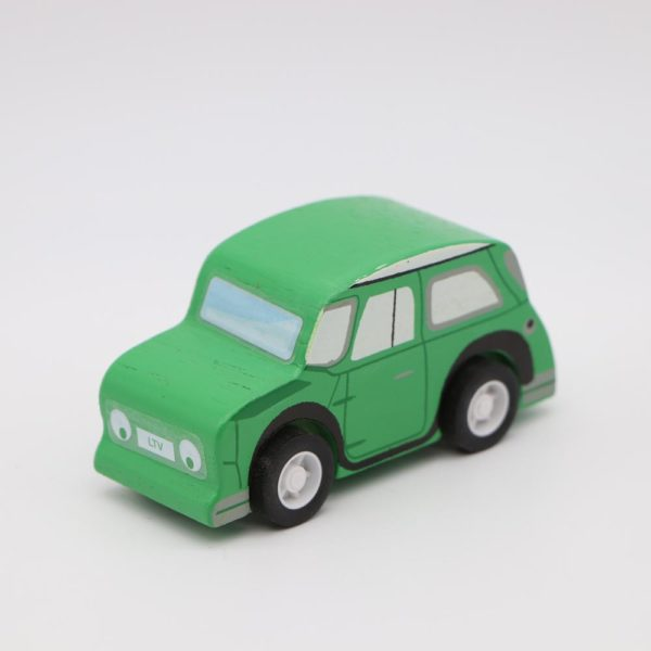 Rückziehauto – grün