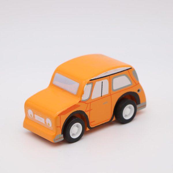 Rückziehauto – orange