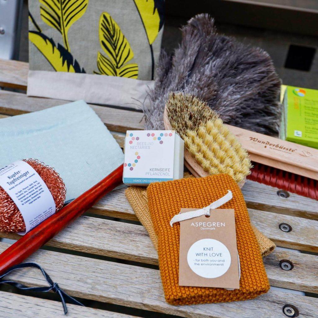 Mit diesen Produkten ökologisch Putzen. Jetzt im Online Shop von das ökolädchen