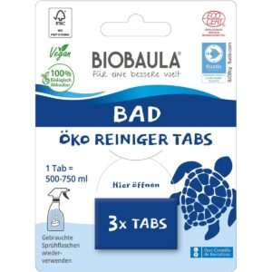 Biobaula Bad Reinigungstabs