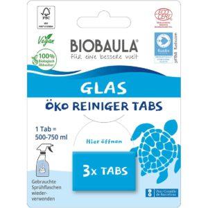 Biobaula Glas Reinigungstabs