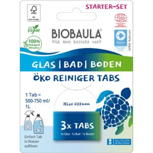 Biobaula Starter-Set Reinigungstabs