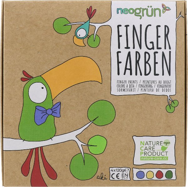 Fingerfarben Aki – 4er Set 5
