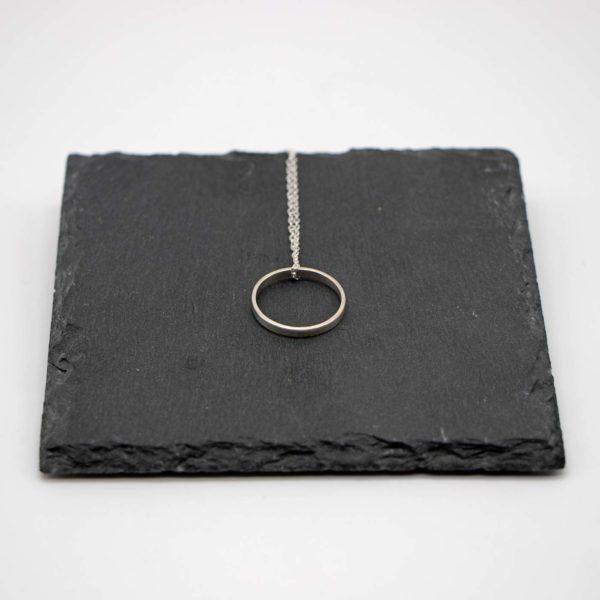 Halskette Shapes Silber, Kreis 1