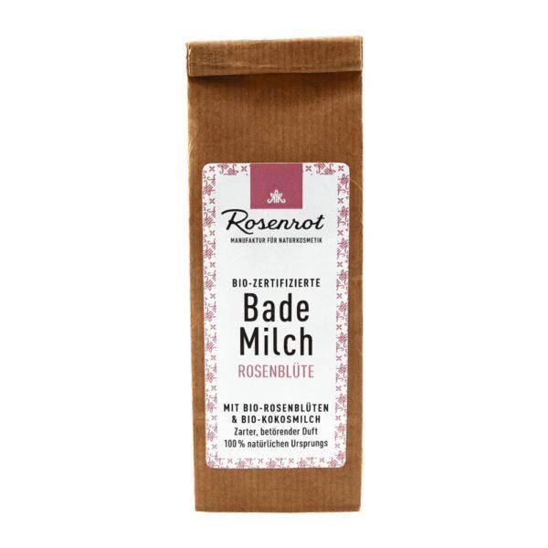 Bademilch Rosenblüte – 150 g