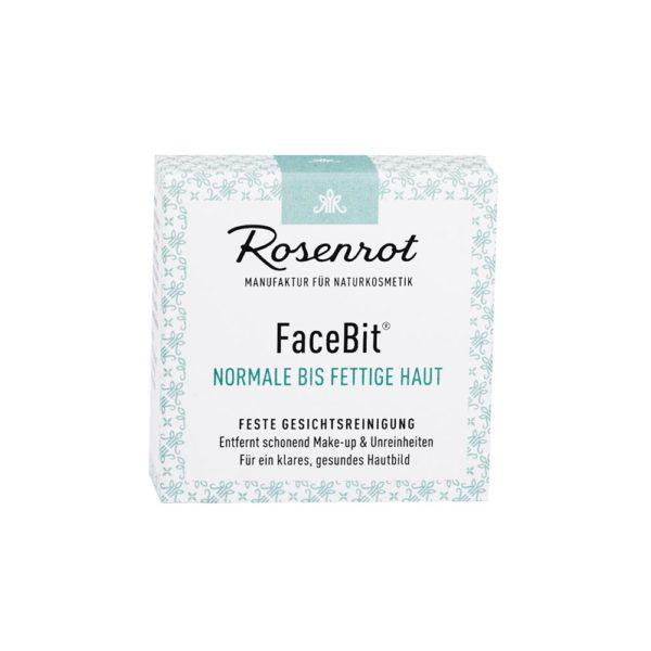 Festes Waschgel Gesichtsreinigung von Rosenrot