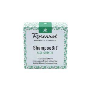 festes Shampoo Algen-Grüntee – 55 g