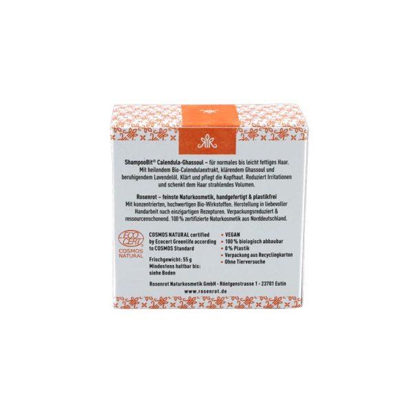 festes Shampoo Calendula-Ghassoul - 55 g 3
