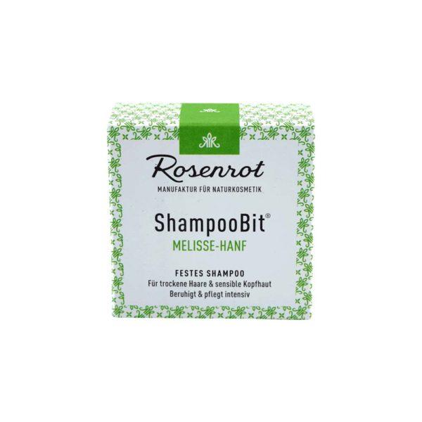 festes Shampoo Melisse-Hanf - 55 g 2