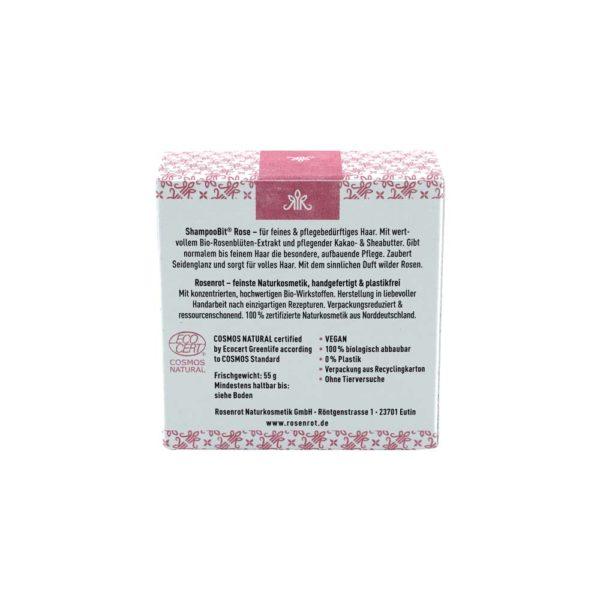 festes Shampoo Rose - 55 g 3