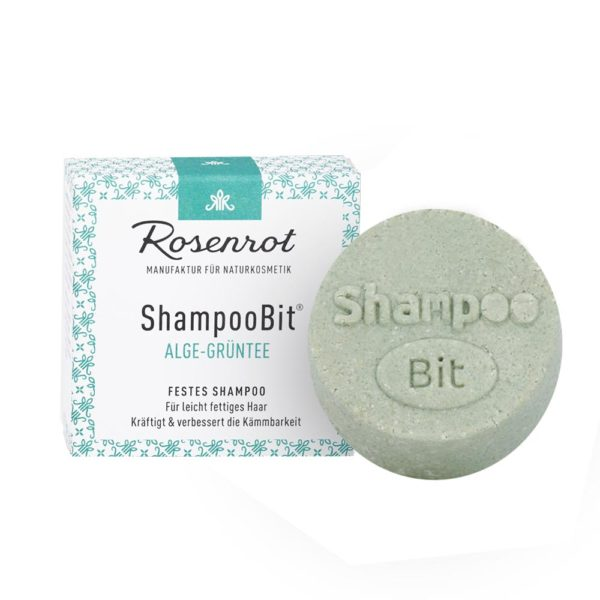 Festes Shampoo Alge-Grüntee von Rosenrot