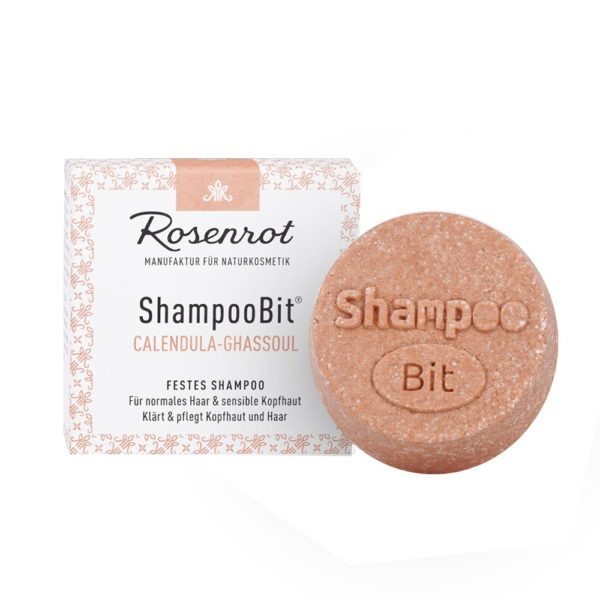 Festes Shampoo Calendula-Ghassoul von Rosenrot