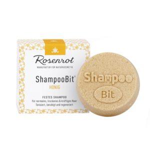 Festes Shampoo Honig von Rosenrot
