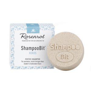 Festes Shampoo Kokos von Rosenrot