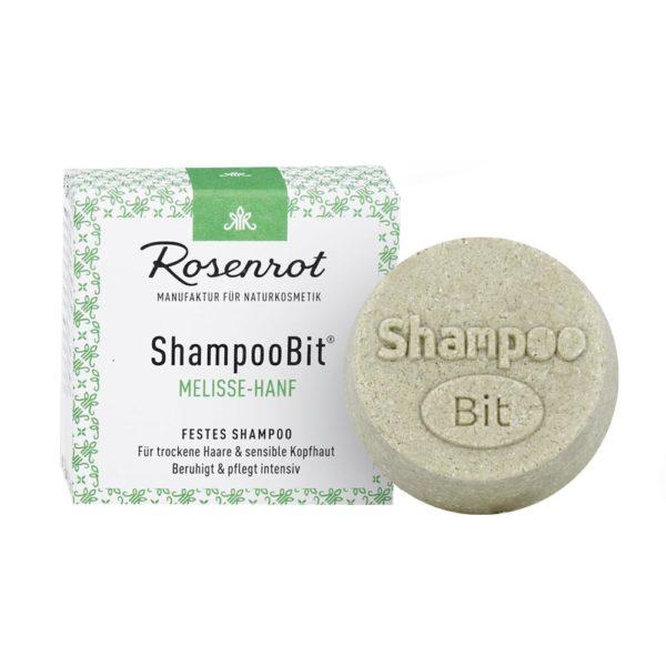 Festes Shampoo Melisse-Hanf von Rosenrot