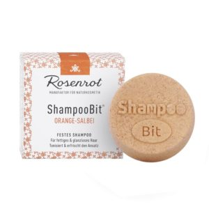 Festes Shampoo Orange-Salbei von Rosenrot