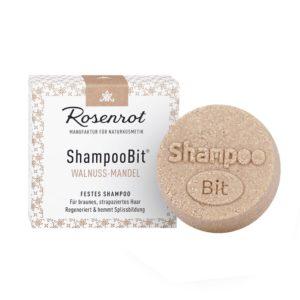 Festes Shampoo Walnuss-Mandel von Rosenrot