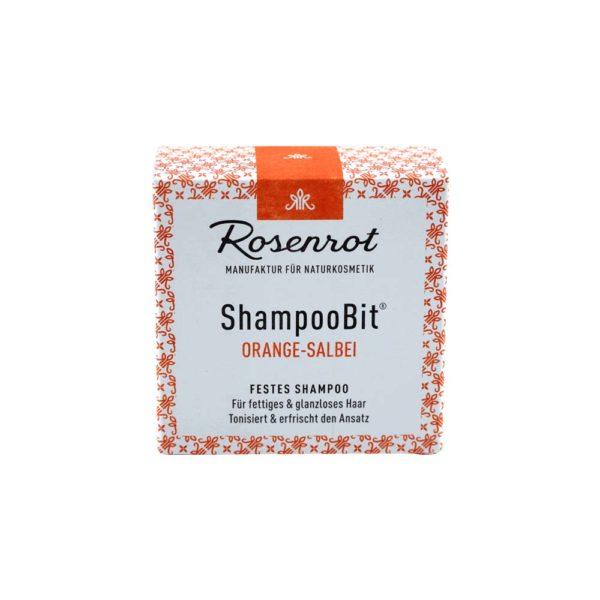 festes Shampoo Orangen-Salbei - 55 g 1