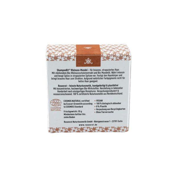 festes Shampoo Walnuss-Mandel, 55 g 3