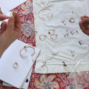 Halskette Shapes Silber, Dreieck 3
